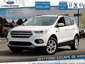 2017 Ford Escape SE**AWD*CAMERA*A/C*SIÈGES CHAUFFANTS**