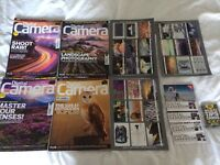 """4 X """"Digital Camera"""" Photography Magazines + Tip Cards and CDs"""