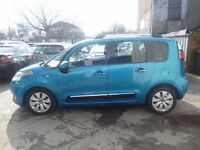 Citroen C3 PICASSO Exclusive HDI,1560 cc MPV,FSH,1 previous owner,2 keys,£30 a year tax,only 41,000