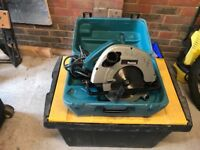 Makita 110v skill saw , 190mm excellent condition , perfect working order