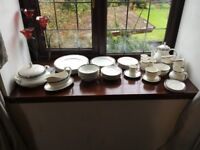 Royal Doulton 6 piece dining set and 6 piece tea & coffee