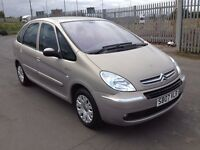 2007 Citreon xsara Picasso 1.6 diesel , mot - may 2017 , only 59,000 miles, full history,focus,astra