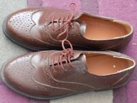 MENS BROWN SHOES SIZE 6