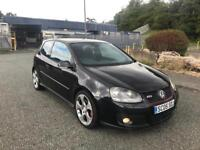 2005 05 VW GOLF 2.0 GTI 3 DR TOP SPEC FSH 159k IMMACULATE DRIVES LIKE NEW MUST SEE £1995 OVNO tdi
