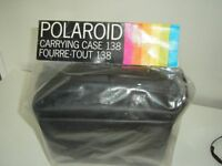 BRAND NEW CARRYING CASE FOR POLAROID 5000SE PLUS FREE CAMERA