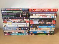 Job Lot of 26 DVDs