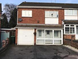 3 Bedroom Semi-detached property to rent in B43 Great Barr, Birmingham