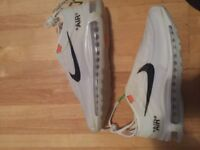 Nike off white 97 air max new size 9