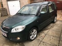 "DESIERABLE "" 2007 SKODA ROOMSTER MPV 1.9 TDI PD 3 (105 BHP) 99K FSH DRIVES LOVELY"