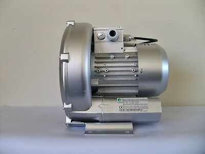 Regenerative Blower 0.83hp 70cfm 60h2o Press 220v1ph Goorui Ghbh D73 12 1r3