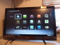 "27"" Sony LED smart WiFi built in full HD freeview built in"