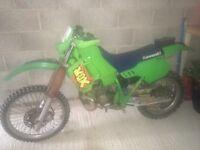 Kawasaki kdx 200 1993