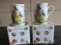 Fine Bone China Mugs