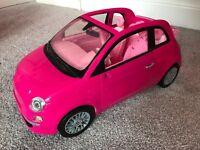 Barbie Fiat Car Collectors Item