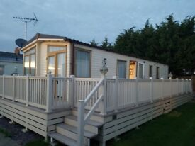 "2014 ABI Focus 38"" 2 bedroom static caravan Sea view holiday park, Swalecliffe"