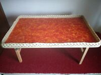 Bed Or Lap Folding Tray