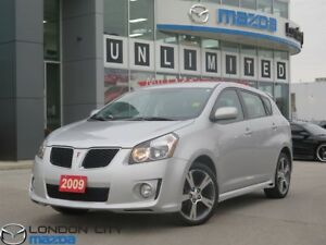 2009 Pontiac Vibe GT Automatic One Owner!