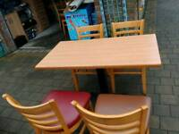 4 heavy duty tables&20 chairs suit cafe/restaurant £450