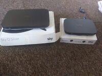 Sky Q Silver 2TB + Sky Q Mini 1TB
