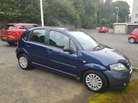 56 plate C3 desire HDI 1.4 mot one year £30 road taxs