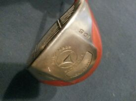 Right Handed Taylor made Firesole 10.5 Driver with Bubbleshaft and Wilson deep red 2 putter