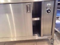Hot Cupboard Food & Plate Warmer 1.2 Meter