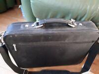 Antler laptop case for larger laptops. with pots of pockets.