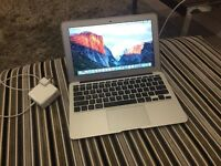 "Mid 2013 MacBook Air 11"" 128gb 4gb Ram Good Condition Brand New Power Adapter"