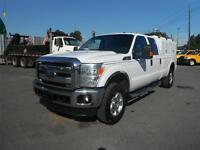2011 Ford F-350 Sd XLT Crew Cab 4WD Long Box with Service Canopy