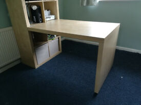 Ikea Kallax Expedit desk extension