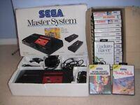 Sega Master System plus 17 games