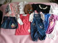 Baby Girl Clothes 9-12mths Large bundle. Very Good Condition
