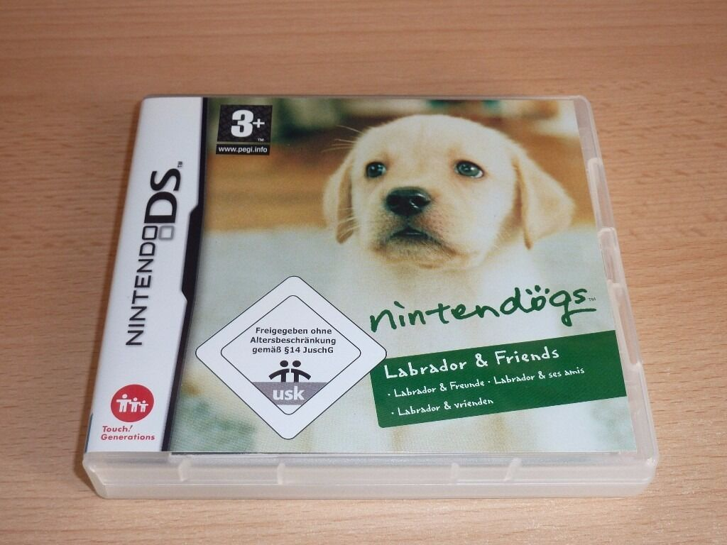 nintendo ds game nintendogs labrador friends with case and instructions in ferndown. Black Bedroom Furniture Sets. Home Design Ideas