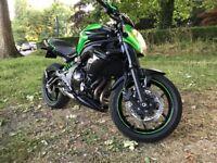 Kawasaki er6n 2015 for sale