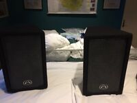 PA System - Wharfedale 5 channel mixer and speakers