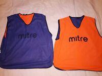 Reversible Mitre Football Bibs (adult x6)