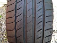 MICHELIN PRIMACY HP TYRE 7MM TREAD NEARLY NEW 225 16 45