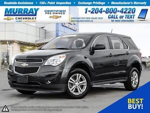 2014 Chevrolet Equinox LS *All Wheel Drive, OnStar, Climate Cont