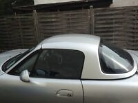 Mazda mx5 hardtop roof silver very good condition