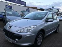 2005 55 PEUGEOT 307 1.6 CHEAP BARGAIN CAR SUPERB DRIVE AND CONDITION **REDUCED** LOVELY CAR