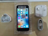 IPHONE 6 BLACK/ UNLOCKED / 16 GB/ VISIT MY SHOP. / GRADEEE A / 1 YEAR WARRANTY + RECEIPT