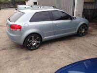 Audi A3 tdi spairs or repairs