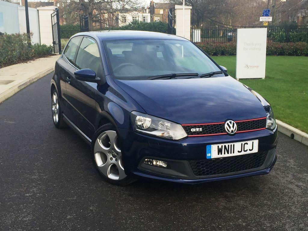 2011 vw polo gti 1 4t 180bhp 7 speed dsg 1 previous owner full vw service not golf a1 a3. Black Bedroom Furniture Sets. Home Design Ideas