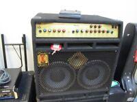 EDEN Metro dc 2 X 10 XLT USA made bass combo
