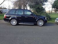 Land rover range rover sports 2.7 hse