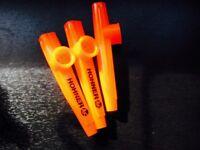 3x Hohner kazoos