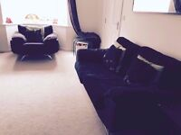 Living Room 3 seater Sofa+Accent 1 seater Sofa- Good condition- from Smoke Free House