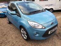 Ford Ka Titanium 3dr (blue) 2012