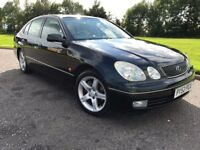 2002 52 LEXUS GS300 SE 3.0 AUTOMATIC, FULL SERVICE HISTORY, 12 MONTHS MOT, EXCELLENT CONDITION