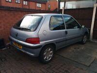 2001 Peugeot 106 1.1 Zest